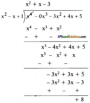 AP SSC 10th Class Maths Solutions Chapter 3 Polynomials Ex 3.4 2