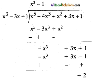 AP SSC 10th Class Maths Solutions Chapter 3 Polynomials Ex 3.4 6