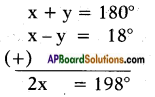 AP SSC 10th Class Maths Solutions Chapter 4 Pair of Linear Equations in Two Variables Ex 4.2 1