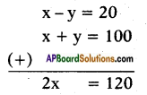 AP SSC 10th Class Maths Solutions Chapter 4 Pair of Linear Equations in Two Variables Ex 4.2 4