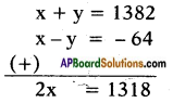 AP SSC 10th Class Maths Solutions Chapter 4 Pair of Linear Equations in Two Variables Ex 4.2 7