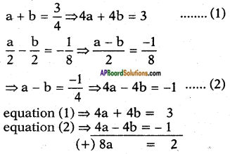 AP SSC 10th Class Maths Solutions Chapter 4 Pair of Linear Equations in Two Variables Ex 4.3 11