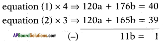 AP SSC 10th Class Maths Solutions Chapter 4 Pair of Linear Equations in Two Variables Ex 4.3 14