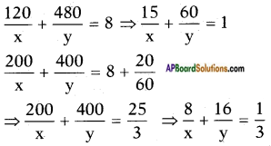 AP SSC 10th Class Maths Solutions Chapter 4 Pair of Linear Equations in Two Variables Ex 4.3 16