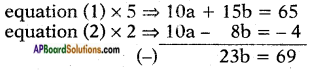 AP SSC 10th Class Maths Solutions Chapter 4 Pair of Linear Equations in Two Variables Ex 4.3 8