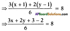 AP SSC 10th Class Maths Solutions Chapter 4 Pair of Linear Equations in Two Variables Optional Exercise 2