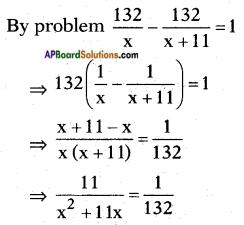 AP SSC 10th Class Maths Solutions Chapter 5 Quadratic Equations Ex 5.3 15