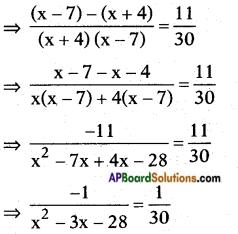 AP SSC 10th Class Maths Solutions Chapter 5 Quadratic Equations Ex 5.3 9