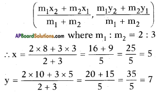 AP SSC 10th Class Maths Solutions Chapter 7 Coordinate Geometry InText Questions 13