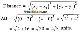 AP SSC 10th Class Maths Solutions Chapter 7 Coordinate Geometry InText Questions 4