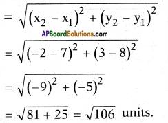 AP SSC 10th Class Maths Solutions Chapter 7 Coordinate Geometry InText Questions 6