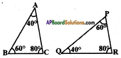 AP SSC 10th Class Maths Solutions Chapter 8 Similar Triangles InText Questions 16