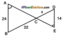 AP SSC 10th Class Maths Solutions Chapter 8 Similar Triangles InText Questions 23