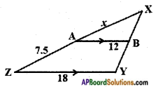 AP SSC 10th Class Maths Solutions Chapter 8 Similar Triangles InText Questions 28