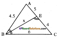 AP SSC 10th Class Maths Solutions Chapter 8 Similar Triangles InText Questions 32