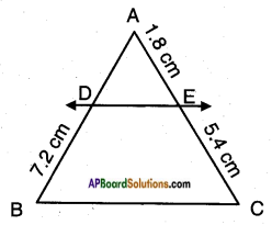 AP SSC 10th Class Maths Solutions Chapter 8 Similar Triangles InText Questions 7