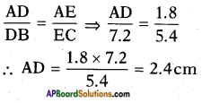 AP SSC 10th Class Maths Solutions Chapter 8 Similar Triangles InText Questions 8