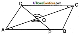 AP SSC 10th Class Maths Solutions Chapter 8 Similar Triangles Optional Exercise 3