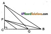 AP SSC 10th Class Maths Solutions Chapter 8 Similar Triangles Optional Exercise 6