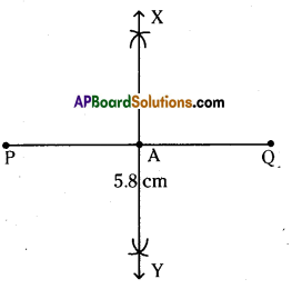 AP Board 6th Class Maths Solutions Chapter 10 Practical Geometry Ex 10.2 1