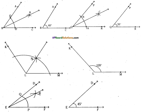 AP Board 6th Class Maths Solutions Chapter 10 Practical Geometry Ex 10.3 6