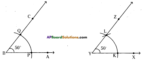 AP Board 6th Class Maths Solutions Chapter 10 Practical Geometry Unit Exercise 6