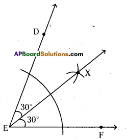 AP Board 6th Class Maths Solutions Chapter 10 Practical Geometry Unit Exercise 7