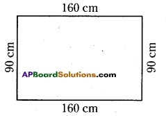 AP Board 6th Class Maths Solutions Chapter 11 Perimeter and Area Ex 11.1 10