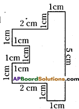 AP Board 6th Class Maths Solutions Chapter 11 Perimeter and Area Ex 11.1 13