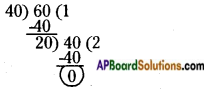 AP Board 6th Class Maths Solutions Chapter 3 HCF and LCM Ex 3.5 2