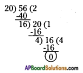 AP Board 6th Class Maths Solutions Chapter 3 HCF and LCM Ex 3.5 3
