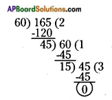 AP Board 6th Class Maths Solutions Chapter 3 HCF and LCM Ex 3.5 6