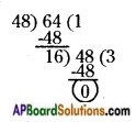 AP Board 6th Class Maths Solutions Chapter 3 HCF and LCM Ex 3.5 9