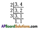 AP Board 6th Class Maths Solutions Chapter 3 HCF and LCM Ex 3.6 9