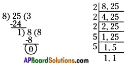 AP Board 6th Class Maths Solutions Chapter 3 HCF and LCM Ex 3.7 2