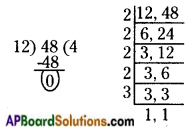 AP Board 6th Class Maths Solutions Chapter 3 HCF and LCM Ex 3.7 3