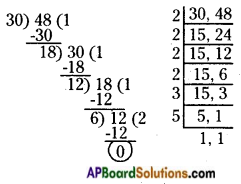 AP Board 6th Class Maths Solutions Chapter 3 HCF and LCM Ex 3.7 4