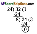 AP Board 6th Class Maths Solutions Chapter 3 HCF and LCM Unit Exercise 10