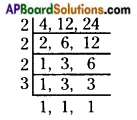 AP Board 6th Class Maths Solutions Chapter 3 HCF and LCM Unit Exercise 9