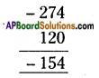 AP Board 6th Class Maths Solutions Chapter 4 Integers Ex 4.3 4