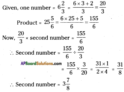 AP Board 6th Class Maths Solutions Chapter 5 Fractions and Decimals Ex 5.3 11