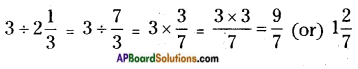 AP Board 6th Class Maths Solutions Chapter 5 Fractions and Decimals Ex 5.3 4