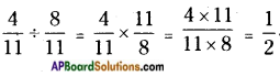 AP Board 6th Class Maths Solutions Chapter 5 Fractions and Decimals Ex 5.3 8