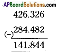 AP Board 6th Class Maths Solutions Chapter 5 Fractions and Decimals Ex 5.5 3