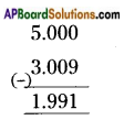 AP Board 6th Class Maths Solutions Chapter 5 Fractions and Decimals Ex 5.5 4