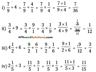 AP Board 6th Class Maths Solutions Chapter 5 Fractions and Decimals InText Questions 7
