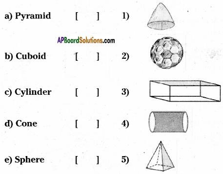 AP Board 6th Class Maths Solutions Chapter 9 2D-3D Shapes Ex 9.4 1