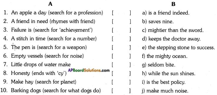 AP Board 7th Class English Important Questions Unit 6 19