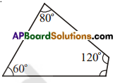 AP Board 7th Class Maths Solutions Chapter 12 Quadrilaterals Ex 1 2