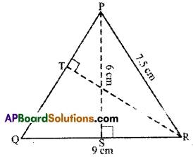 AP Board 7th Class Maths Solutions Chapter 13 Area and Perimeter Ex 3 4